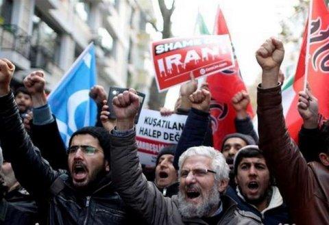 İranda iğtişaşlar baş verib