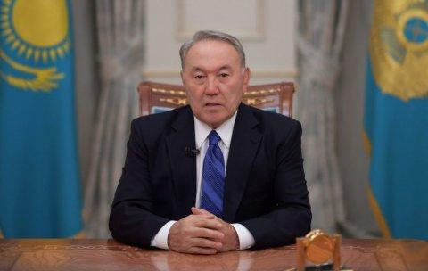 Nazarbayev istefaya getdi