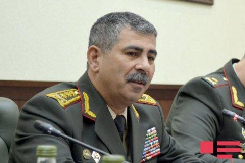 Həsənov ATƏT sədrinin şəxsi nümayəndəsi ilə görüşüb