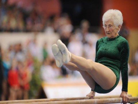 Dünyanın ən yaşlı gimnastı
