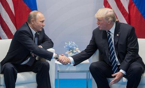 Trampla Putin arasında görüş gözlənilir