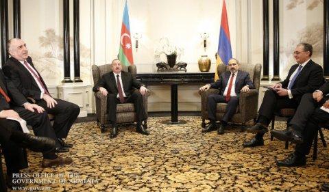 Paşinyan Azərbaycan prezidenti ilə görüşündən danışdı