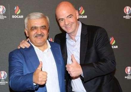 FIFA prezidenti Rövnəq Abdullayevə məktub göndərdi