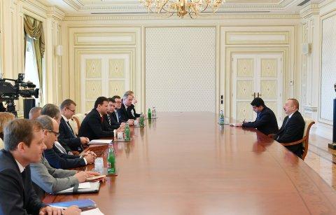 Prezidentİlham ƏliyevÇexiya Deputatlar Palatasının sədrini qəbul etdi