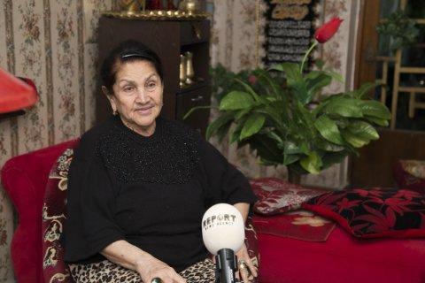 """Roza Cəlilovaya """"Şöhrət"""" ordeni verildi"""