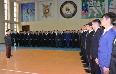Ramil Usubov  361 nəfəri polisə işə götürdü