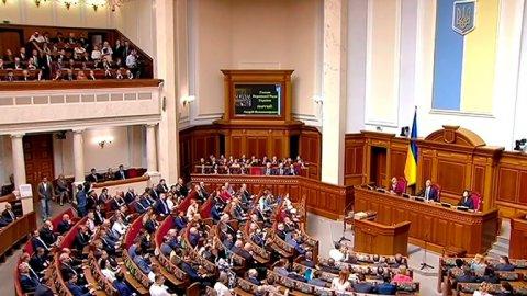 Ukraynada növbədənkənar parlament seçkilərinin vaxtı açıqlandı