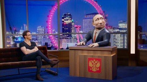 Vladimir Putin BBC-də gecə verilişi aparacaq