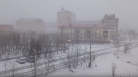 Rusiyaya güclü qar yağdı: Məktəblər və yollar bağlandı