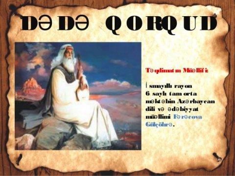 """İddia: """"Kitabi-Dədə Qorqud"""" dastanının kamil nüsxəsi İrandadır"""