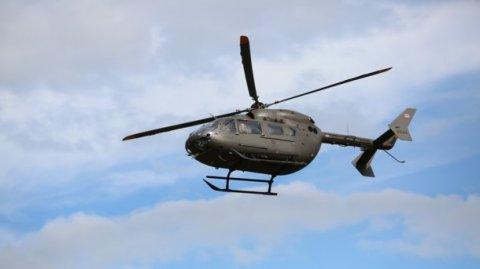 Yanğın söndürən helikopter qəzaya uğradı, ölənlər var