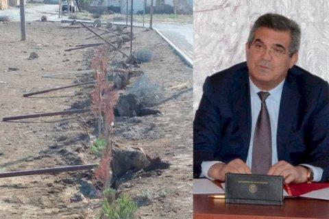 İcra başçısından etiraz doğuran qərar:  Süleyman Mikayılov məscidin hasarını sökdürdü - FOTOLAR