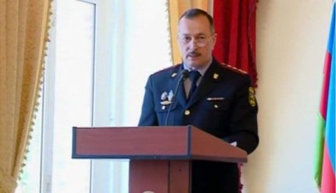 Ramil Usubov polis rəisini vəzifəsindən azad etdi