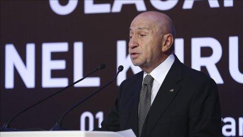 Türkiyə Futbol Federasiyasının yeni prezidenti seçilib