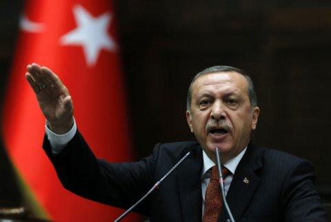 """Ərdoğan: """"Vətəndaşlara bombalarla edilən hücum bizi çox məyus edir"""""""