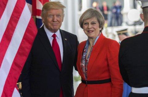 """Tramp Tereza Meylə görüşdə: """"Brexit"""" baş tutmalıdır, bu, sizə  fayda verəcək"""""""