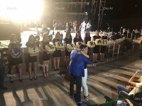 Miri Yusifin konsertində evlilik təklifi oldu