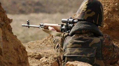 Ermənistan silahlıları mövqelərimizi atəşə tutub