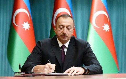 İlham Əliyev sədr təyinatı imzaladı