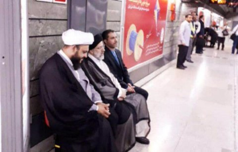 İran məhkəməsinin başçısı metroda