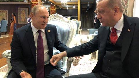 Ərdoğan Yaponiyada Putinlə görüşəcək
