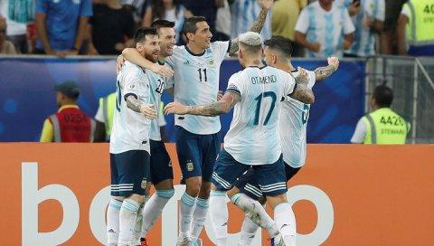 Amerika Kubokunun yarımfinalında Braziliya və Argentina oynayacaq