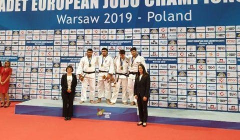 Cüdoçularımız 1 qızıl və 3 bürünc medal qazanıb