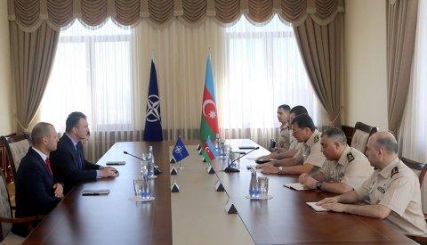NATO-nun  vitse-admiralı Bakıya gəlib