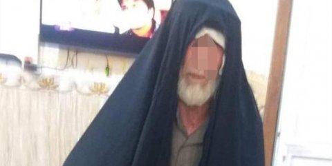 İŞİD-in rəhbər şəxslərindən biri qadın paltarında yaxalandı