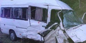 Azərbaycanlıların olduğu mikroavtobus Rusiyada qəzaya uğrayıb
