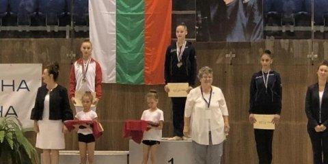 Gimnastlarımız 5 medal qazanıb