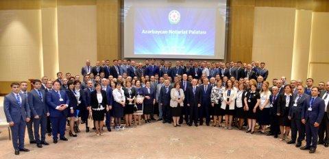 Azərbaycan Notariat Palatası təsis edildi, yeni sədr seçildi