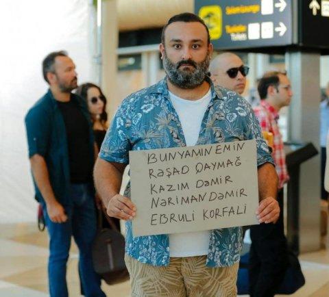 Türkiyəli aktyorlar Bakıda filmə çəkilir
