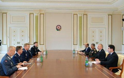 İlham Əliyev NATO-nun Avropadakı Ali Komandanı ilə görüşdü