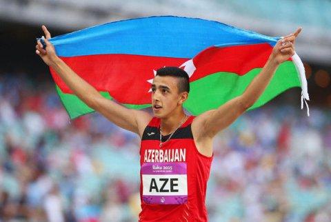Atletimiz İtaliyada qızıl medal qazanıb