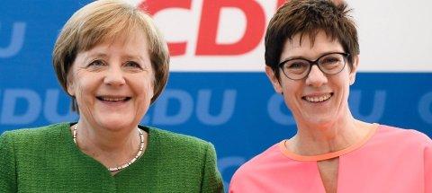 Merkelin siyasi varisi müdafiə naziri olacaq