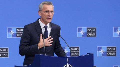 """NATO-nun baş katibi: """"Türkiyənin """"F-35"""" proqramının bir hissəsi olmayacağından narahatam"""""""