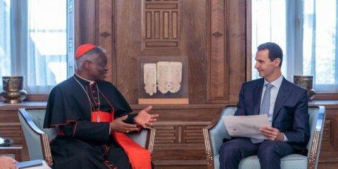 Bəşər Əsəd Vatikan elçisini qəbul etdi