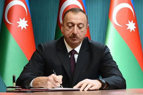 İlham Əliyev yeni sərəncam imzalayıb