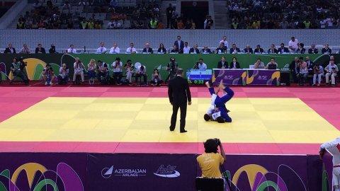 Azərbaycan cüdoçusu gümüş medal qazandı