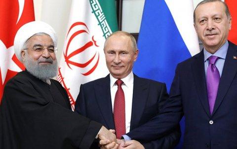 3 liderin Astanada görüşü gələn ay olacaq