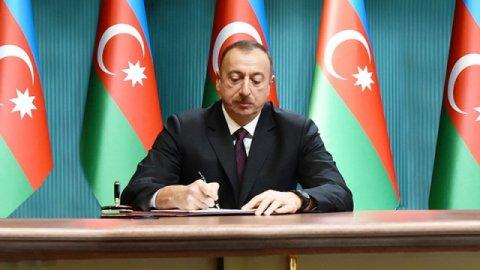 Prezident kənd təsərrüfatı ilə bağlı sərəncam imzaladı