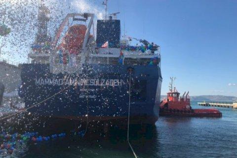 Rəsulzadənin adını daşıyan tanker suya buraxıldı