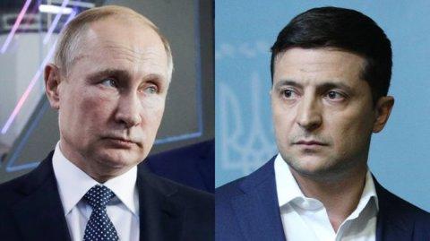 Putinlə Zelenski razılaşdı - İki ölkə lideri telefonda müzakirə aparıblar