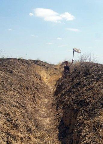 Ermənistanın hərbi qulluqçusu təmas xəttində saxlanıldı