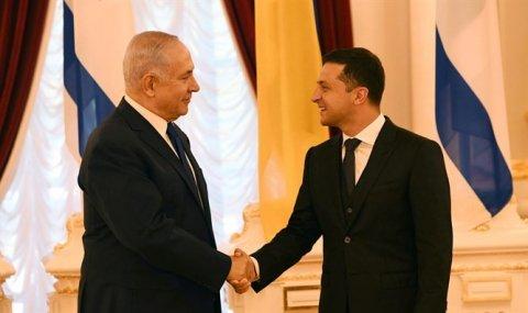 Netanyahu Ukraynada – Zelenski ilə danışıqlar gedir