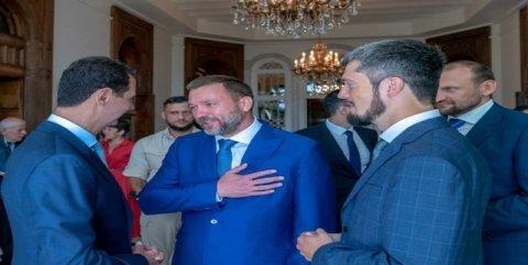 """Bəşər Əsəd: """"Türkiyə terrorçuları dəstəkləyir"""""""