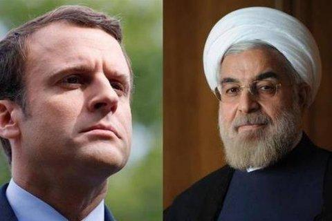Fransa və İran prezidentləri gərginliyi  azaltmağa çalışacaq