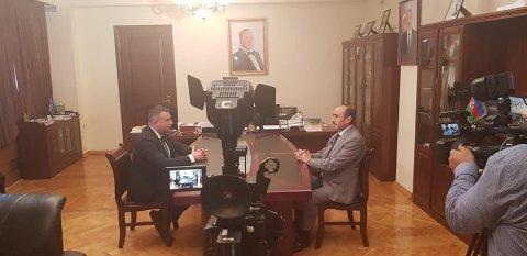 """Prezidentin köməkçisi """"TRT World"""" kanalına müsahibə verib"""