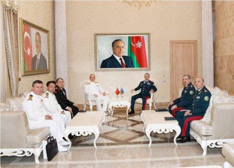 Nağıyevin dəvəti ilə kontr-admiral Azərbaycana gəlib